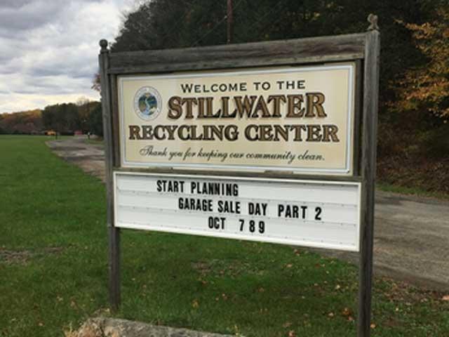 Recycling Center Stillwater NJ
