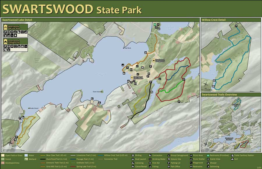 Swartswood Hiking and Trails