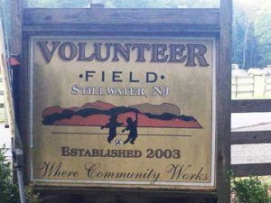Volunteer Field Stillwater NJ